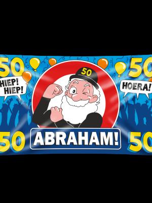 Gevel vlag -Abraham